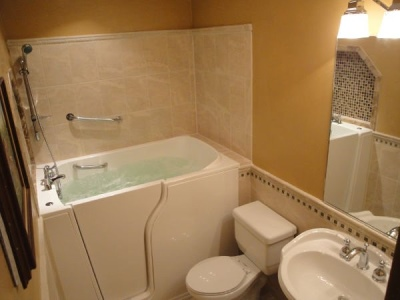 Independent Home Products, LLC installs hydrotherapy walk in tubs in Brier