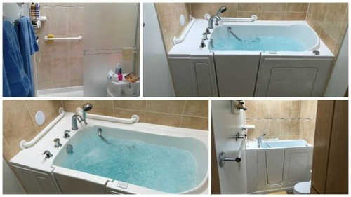 Walk in Bathtub transformation in Spokane, WA